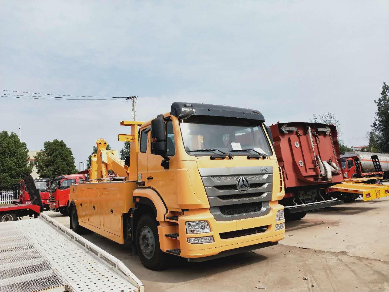 13吨单桥20吨后双桥30吨前四后八大型清障拖车厂家现车图片图片