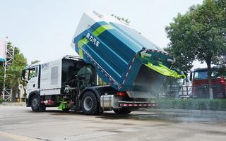 重汽T5G洗掃車圖片