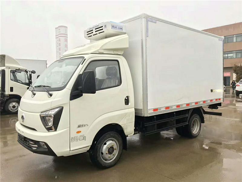 冷藏車奧馳締途柴油發動機冷藏車廠家直銷
