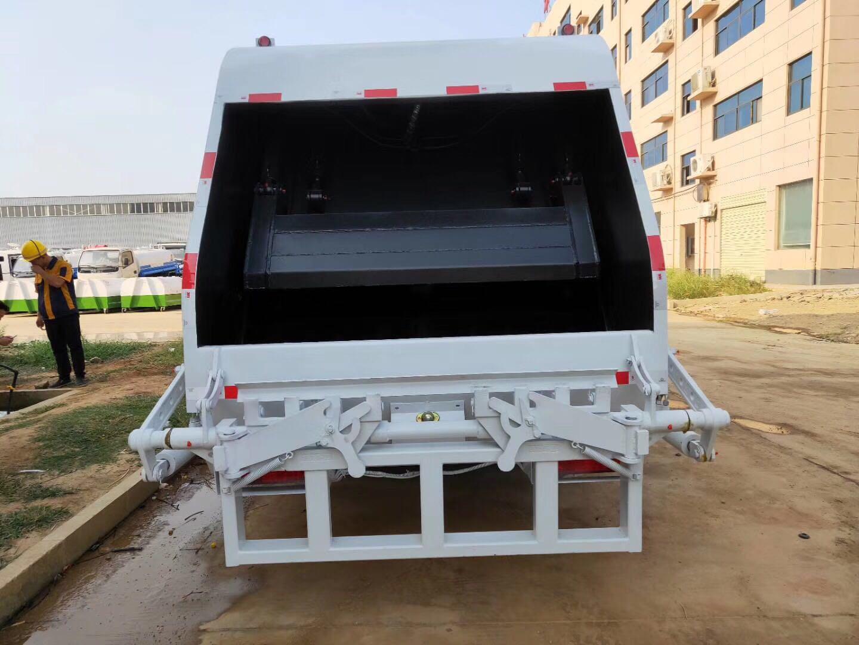 国六后装压缩垃圾运输车价格专业定制厂家送车图片