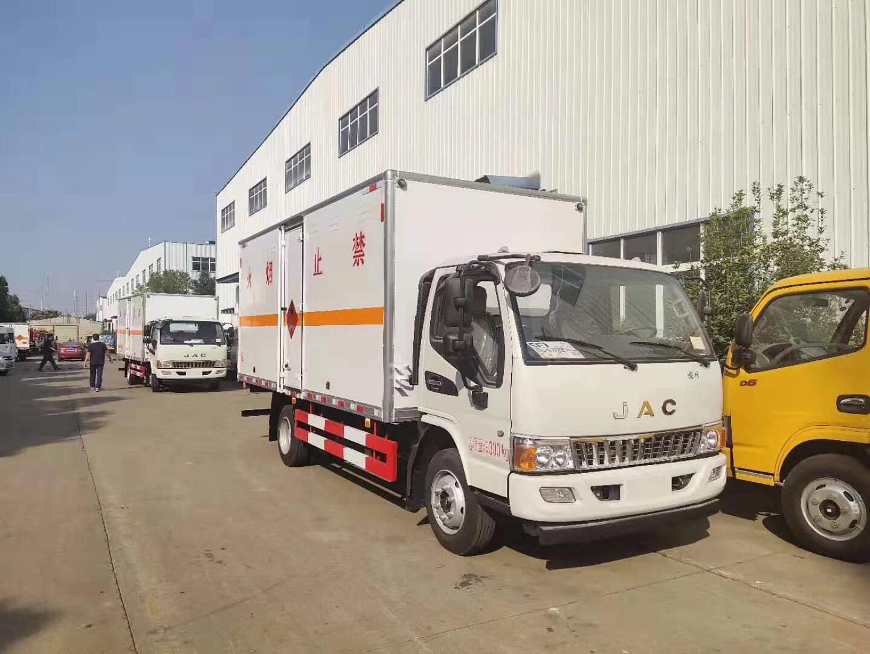 2臺大江淮易燃液體廂式車(有營運)