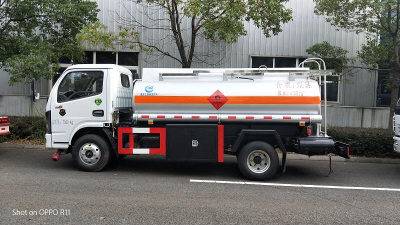 東風國六5噸加油車可流動式工地加油車全新上市視頻