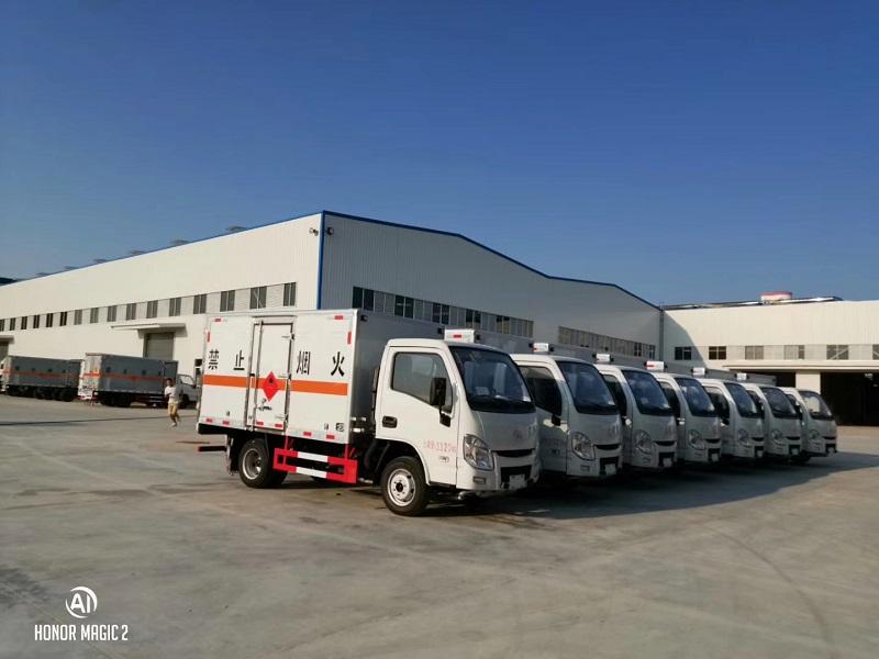 躍進國六JDF5030XRQSH5型易燃氣體廂式運輸車視頻視頻