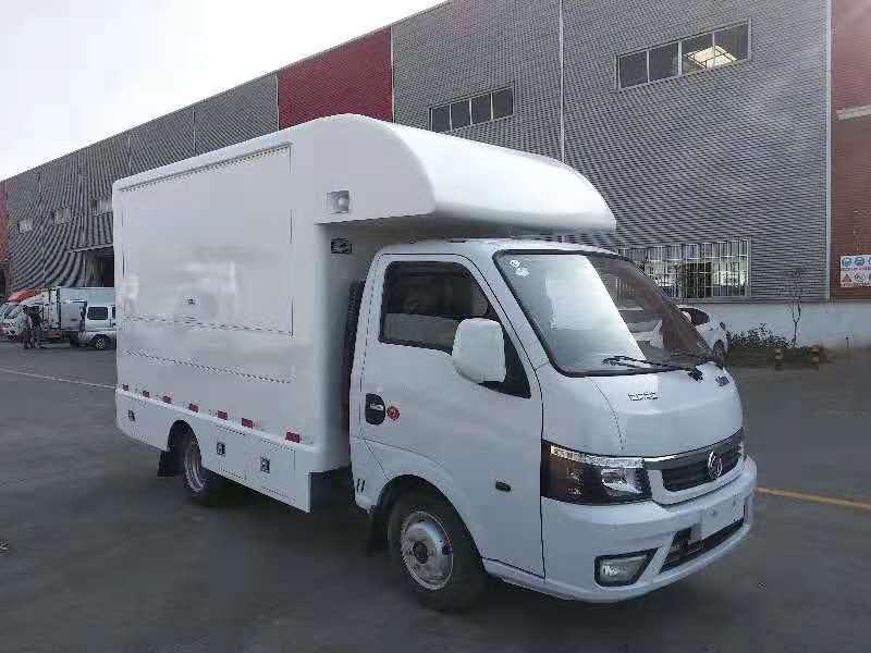售貨車國六東風途逸售貨車圖片專汽詳情頁圖片