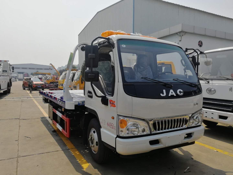 藍牌一拖二拖車發往廣西圖片