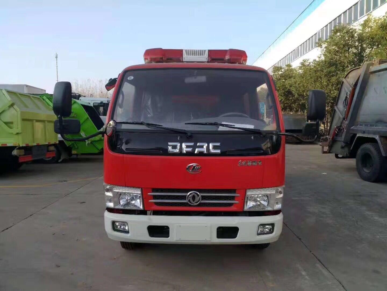程力高科小多利卡干粉水连用消防车图片