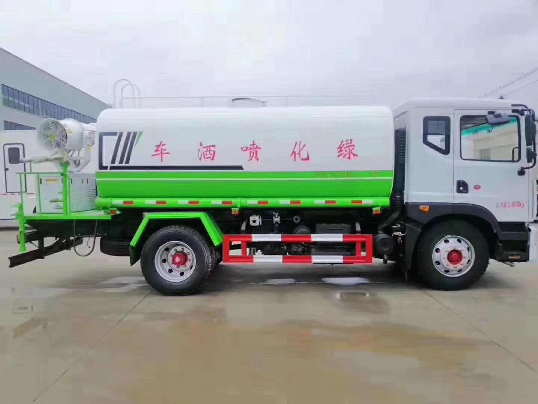 國六東風D9多利卡30米抑塵車