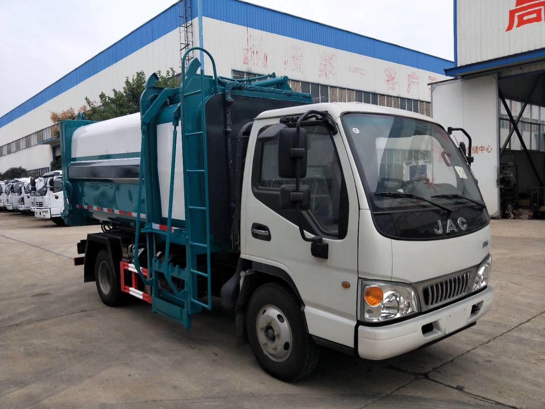 江淮新式7方側裝壓縮垃圾車