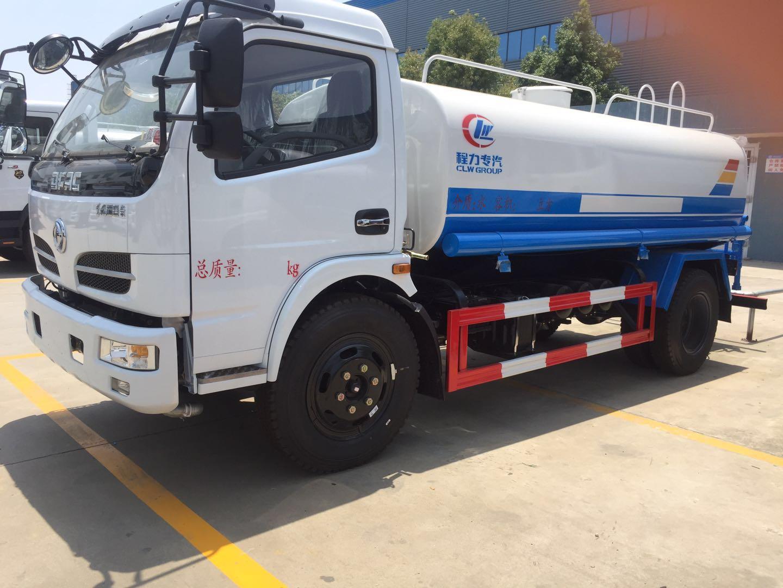 國五東風10噸福瑞卡灑水車圖片