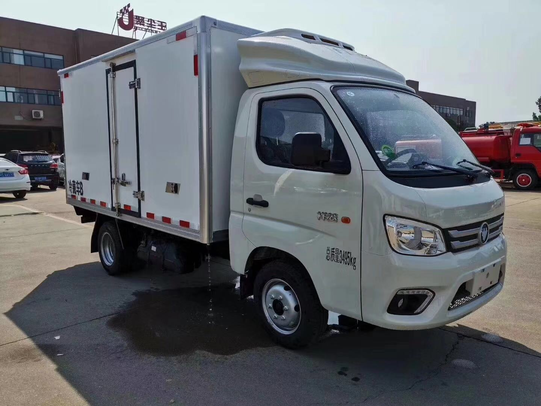(国六)福田祥菱(3.1米)M1汽油冷藏车