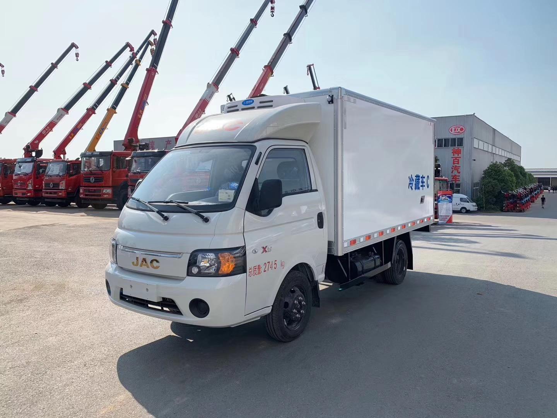 国六江淮康铃X5小型汽油机冷藏车