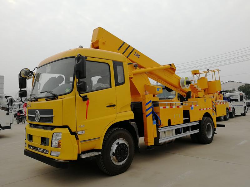 28米直臂式高空作业车图片与售后配件图片