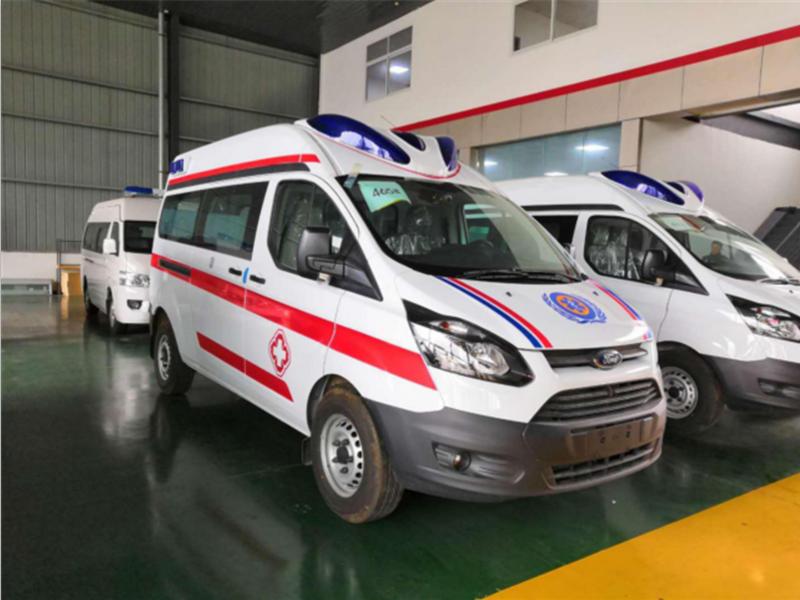 国六V362救护车(柴油版