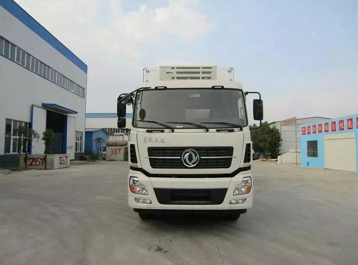 東風天龍小三軸冷藏車品牌冷藏車價格優惠圖片
