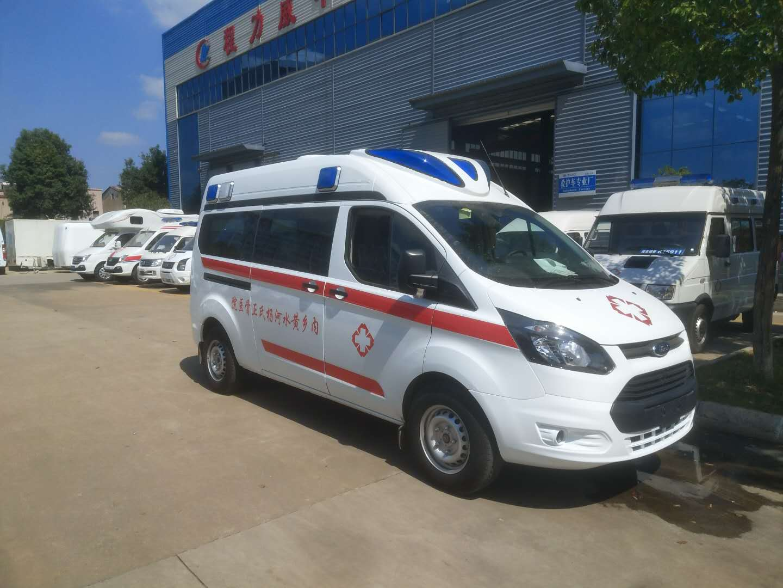 福特新全順V362長軸監護型救護車軸距3300mm