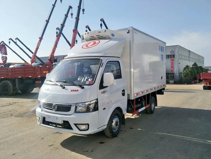 東風途逸3.5米冷藏車全國同類價格最低圖片