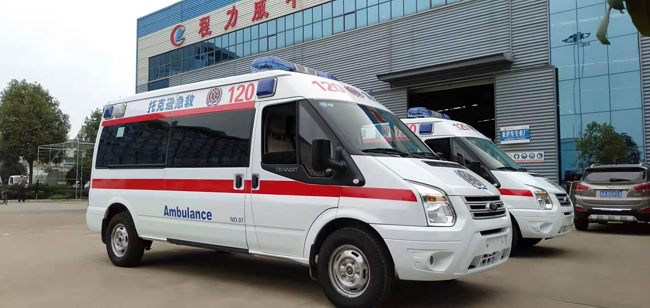 福特新世代V348長軸救護車