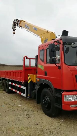 特商后八輪徐工12噸雙聯泵加長臂隨車吊廠家現車