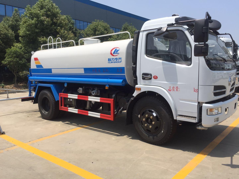 國五東風多利卡5噸灑水車圖片