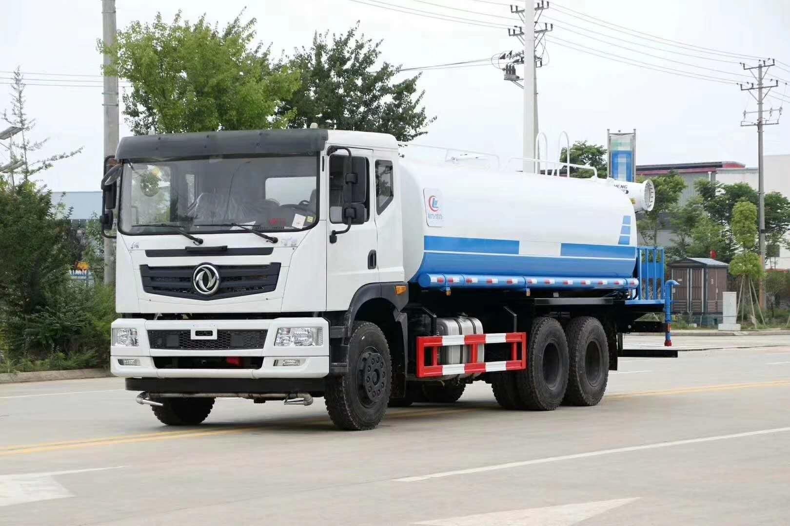 國五東風20方綠化灑水車