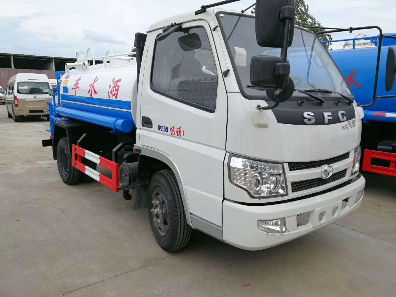 國五時風2.8方藍牌灑水車