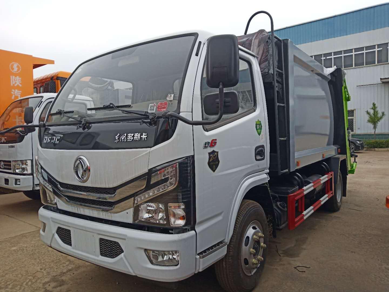 國六東風6噸壓縮垃圾車多少錢?