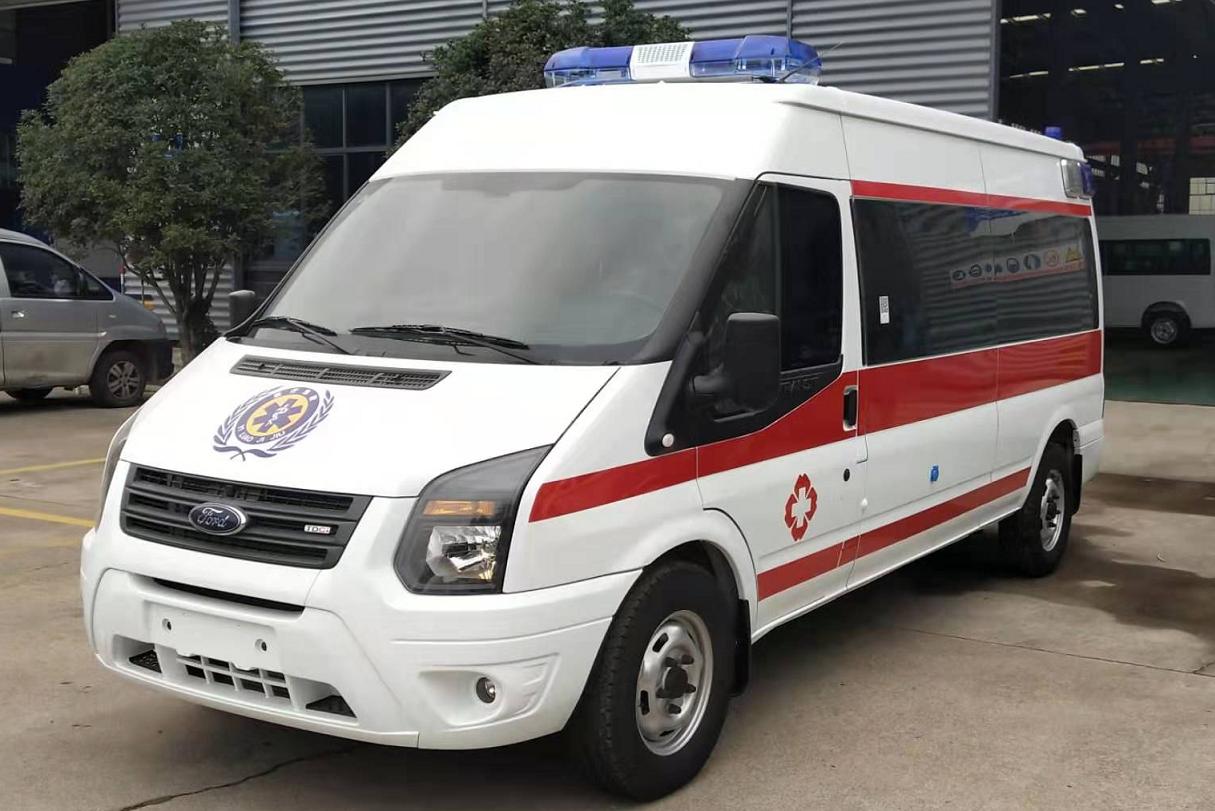 福特新世代V348長軸監護型救護車
