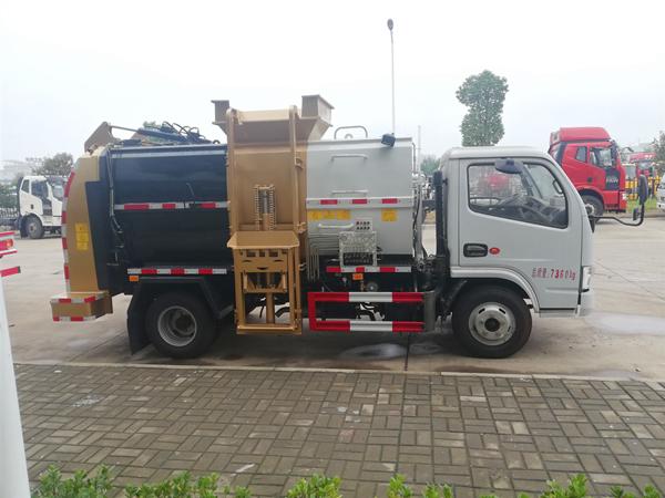 香槟金东风多利卡3吨餐厨垃圾车