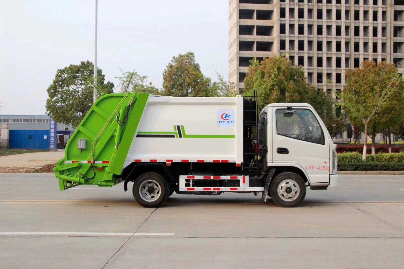 國五 12方壓縮垃圾車