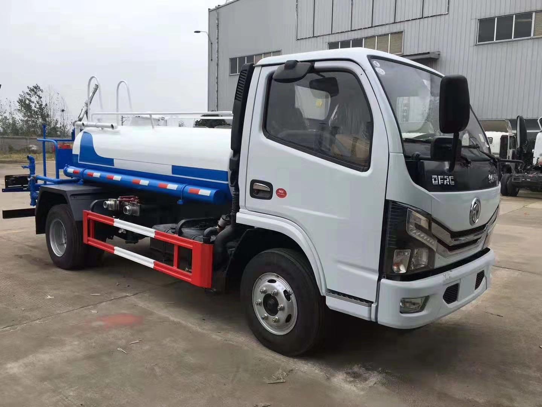 東風國六藍牌灑水車圖片