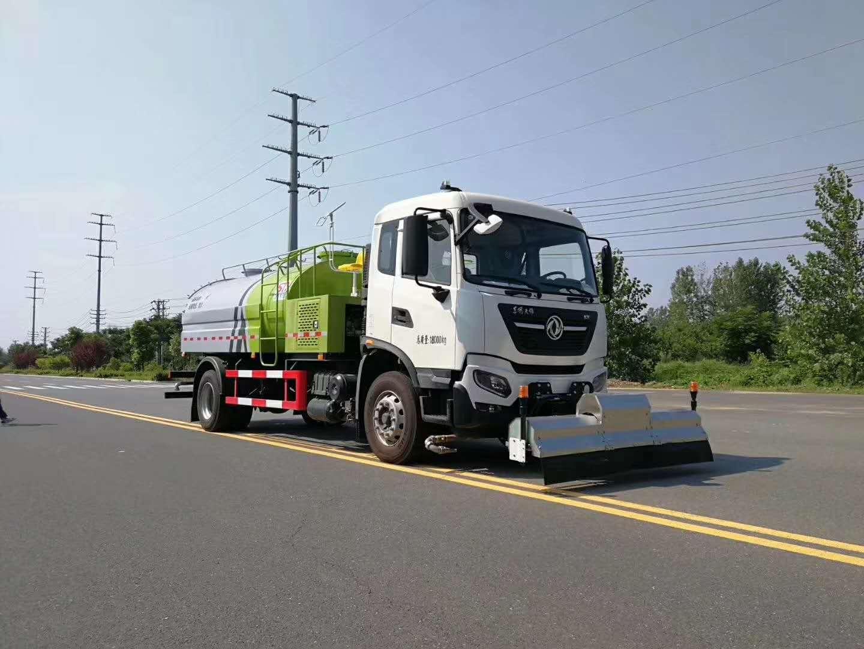 東風天錦國六高壓路面清洗車16大優點圖片