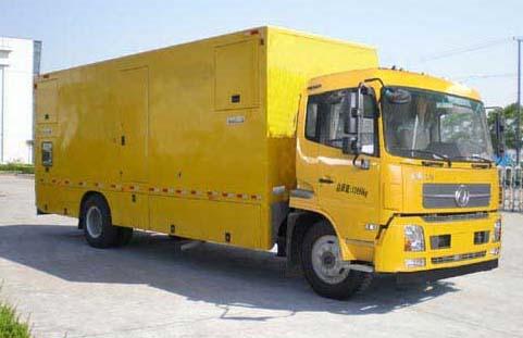 国六东风天锦210马力300KW应急救援专用发电供电照明车价格