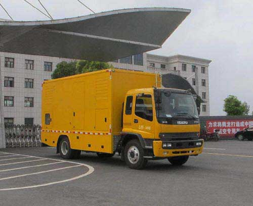 國五慶鈴100-200KW應急救援專用電源車,供電救援車價格