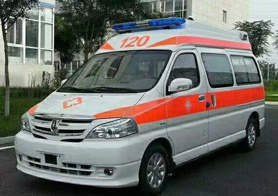 华晨雷诺金杯国六救护车