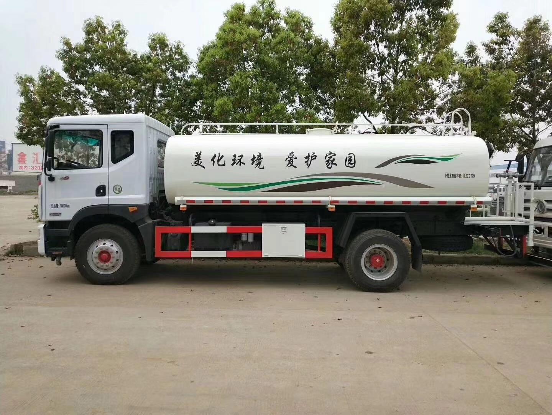 東風D9康明斯機器12--15立方灑水車圖片