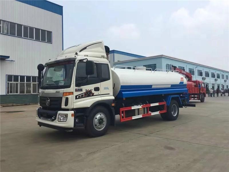 國五福田歐曼小三軸22噸灑水車