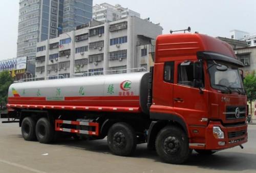 國五東風天龍前四后八25噸灑水車
