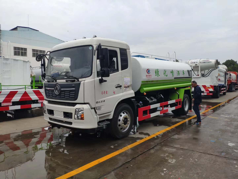 國六東風天錦灑水車多少錢?