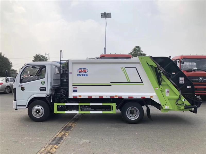 国六东风压缩式垃圾车免费体验试车图片