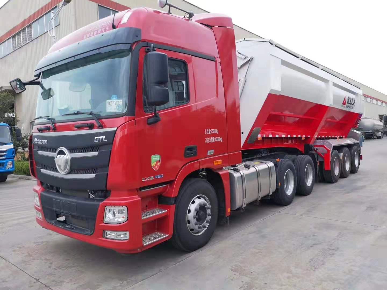 履带式半挂运输车安全/快捷/高效率图片