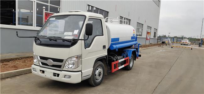 (不上戶)福田時代小卡之星2灑水車藍牌3噸灑水車價格