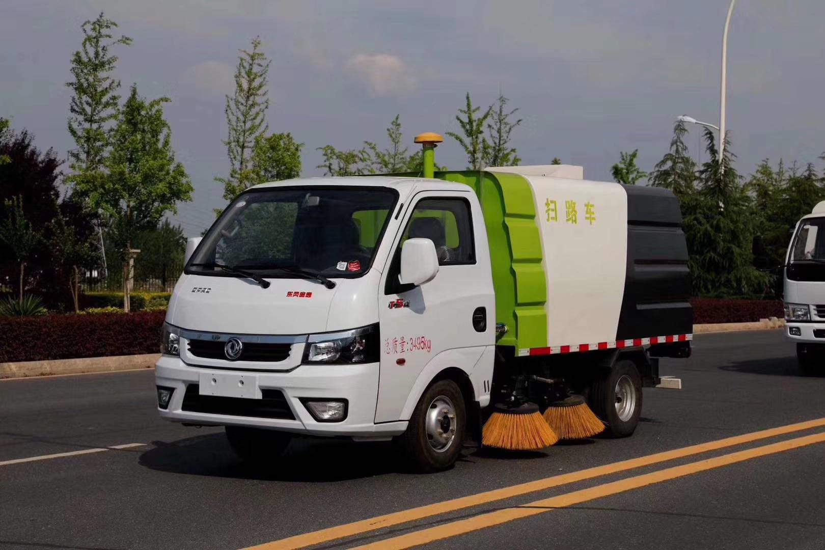 東風國六途逸掃路車圖片圖片