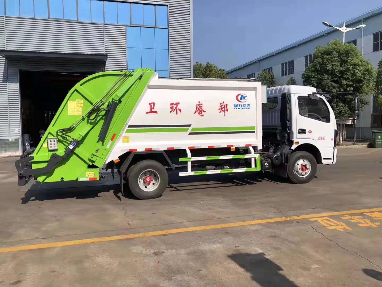 國六壓縮垃圾車圖片
