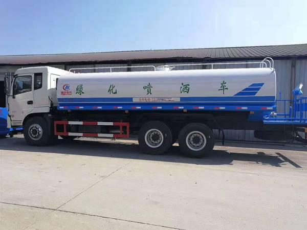 國五東風御龍后八輪20噸灑水車