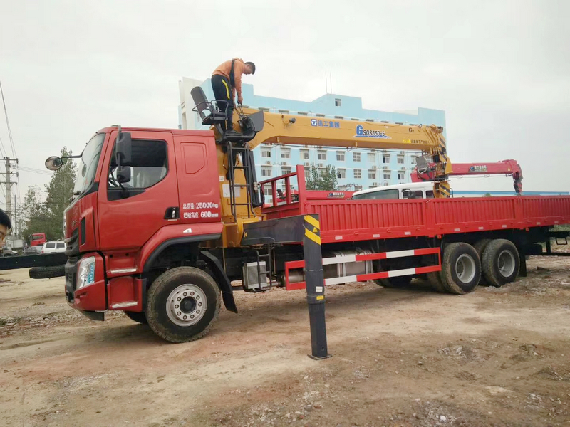 徐工新款14噸雙聯泵吊機 G系列G SQS350-5吊機