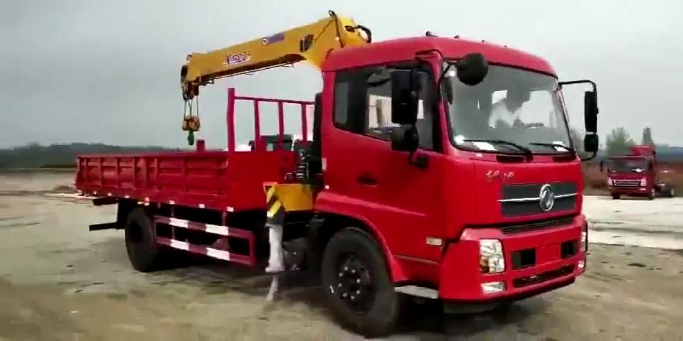 東風天錦徐工6.3噸4節臂隨車吊 K SQS157-4