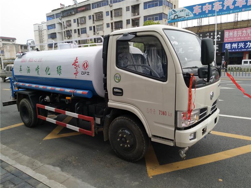 隨州東風5方灑水車廠家全國聞名!視頻