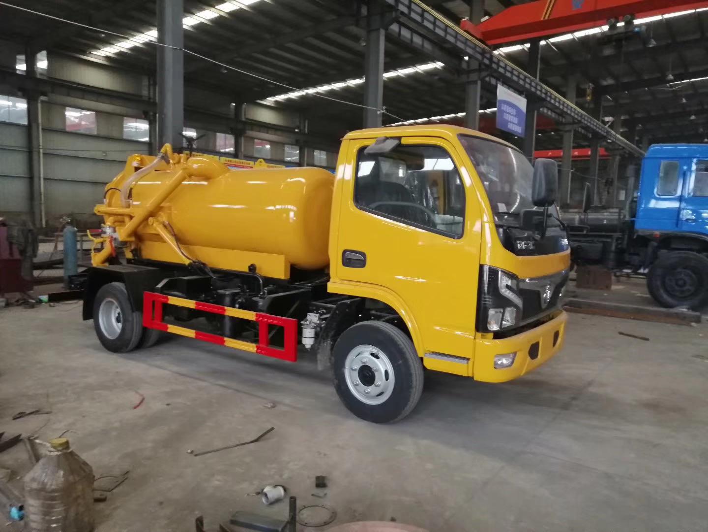 東風國六吸污車(發車)圖片