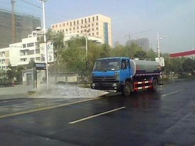 国五东风153 15吨洒水车图片