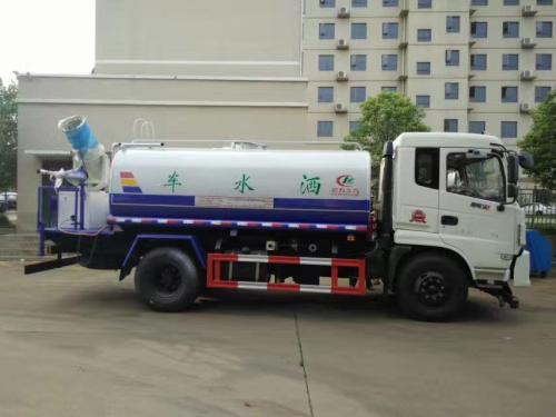 国五东风御虎12吨洒水车图片